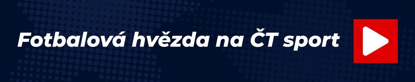Fotbalová hvězda na ČT sport